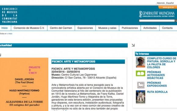 CONSORCIO DE MUSEOS DE LA COMUNIDAD VALENCIANA. SECTOR CULTURA