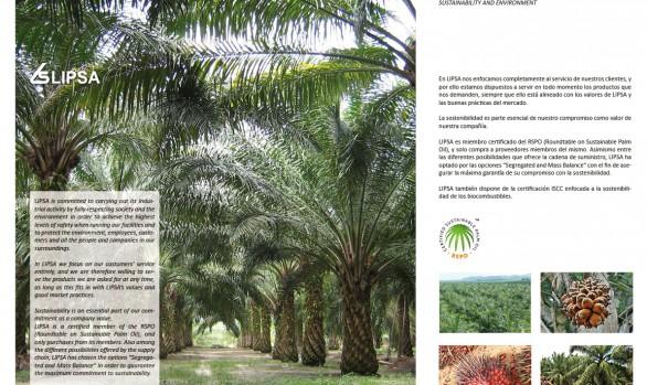 LIPSA. SECTOR ACEITES Y GRASAS VEGETALES